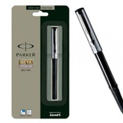 PARKER - Beta Premium Silver Ball Pen