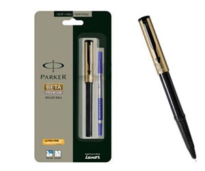 PARKER - Beta Premium Gold Roller Ball Pen